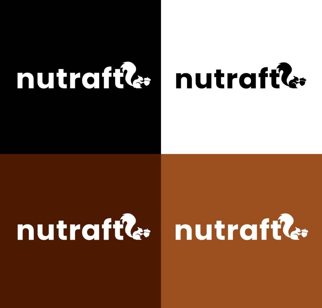 Enozi Portfolio - branding   Nutraft Logo